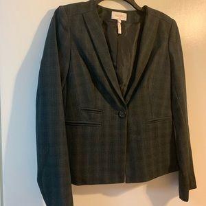 Laundry by Shelli Segal Grey/Black Suit Jacket
